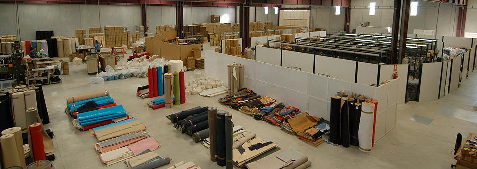Más de 3000 m2 de instalaciones